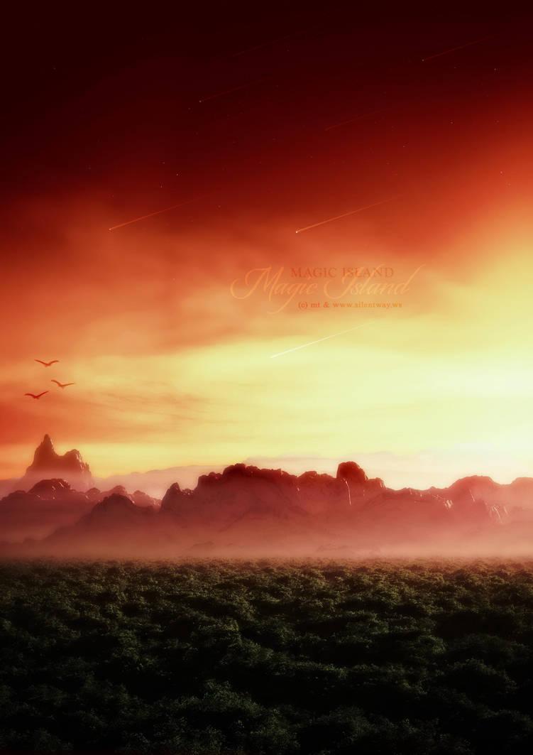 Magic Island by LaCiel