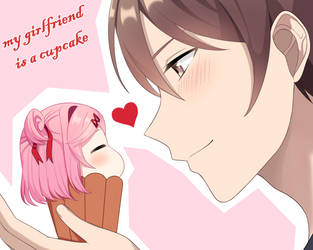 My Girlfriend is a Cupcake by Angon623