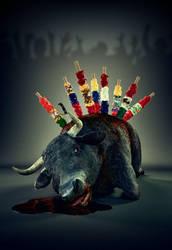 Bullfighting by Hypertaf-Tafkah
