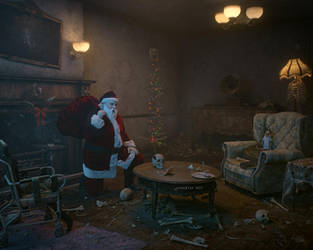 Texas Chainsaw Christmas by Hypertaf-Tafkah