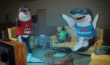 Shark Week! by Hypertaf-Tafkah