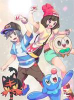 Pokemon Generation VII by Z-Gears