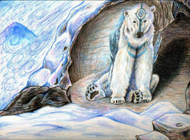 Shelter from the Blizzard by Kasaurus