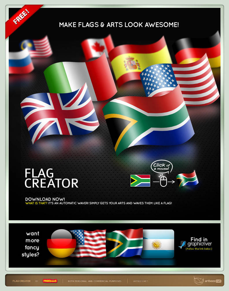 Flag Creator by artbees