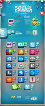 Lifetime Social Icons Part 1 by artbees