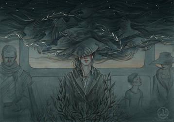Threading Thunder by NatasaIlincic