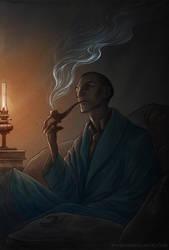 Sherlock Holmes by NatasaIlincic