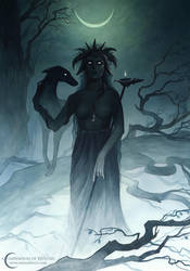 A Compendium of Witches ~ Hecate by NatasaIlincic