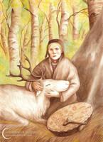 A Compendium of Witches ~ Rana, Sami noaidi by NatasaIlincic