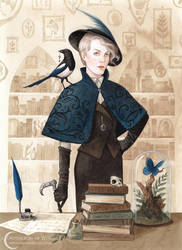 A Compendium Of Witches ~ Magpie by NatasaIlincic