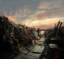 In Trenches by OlegDaniel