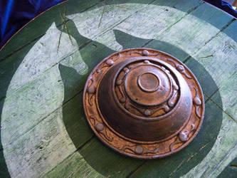 PROP REPLICA: Eowyn Shield Lifesize 1:1 by la-fragua-de-mithril
