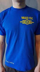 Fallout overseer tshirt screen print by darkpixelstorm