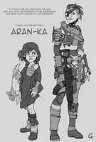 Aran-Ka - Bitch of the Wastes by CameronAugust