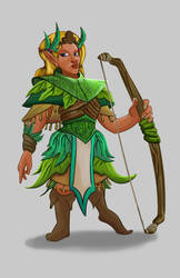 Dwarf Fortress: Elf General by DreadHaven