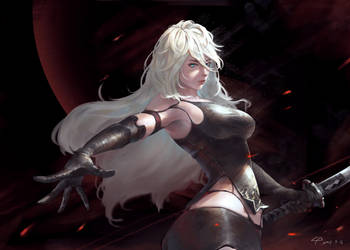 NieR Automata -A2 by freewalk543