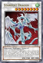 Stardust Dragon - yugioh orica (proxy) by spyrohealth