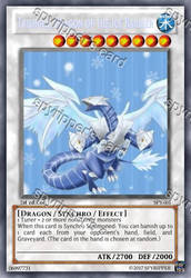 Trishula, Dragon of the Ice Barrier -yugioh orica by spyrohealth