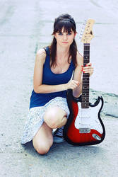 Kasia and guitar by PuertoAsis