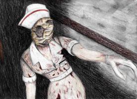 Silent hill Nurse by Bagel-Bonanza