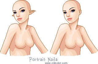 Niala Portrait Base by Galadnilien