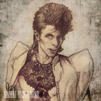 David Bowie by RobertByng