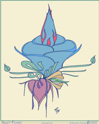 Heart-Flower by Myhrddin