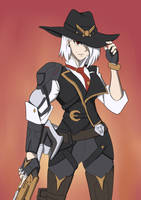 Ashe by Wingrider92