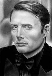 Le Chiffre - Mads Mikkelsen by Mutemouia