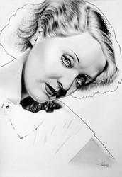 Bette Davis by Mutemouia