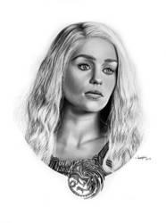 Daenerys Targaryen by Mutemouia
