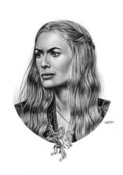 Cersei Lannister by Mutemouia
