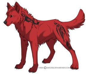 Kiye: Wolf Form by popolollie