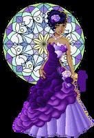Lady Purple by Angbryn