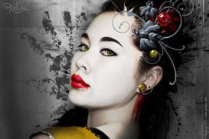 Paint Geisha by Angbryn