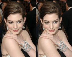 Anne Hathaway Makeover by Angbryn