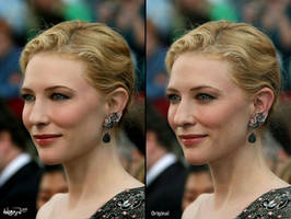 Cate Blanchet Makeover by Angbryn