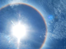 Solar halo by Angbryn