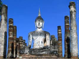 Wat Mahathat, Sukhothai by Angbryn