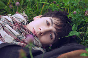 Daydreaming in the clover field - III by Angbryn