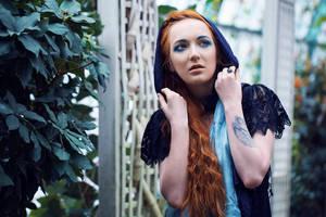 Blue scarfs by Angbryn