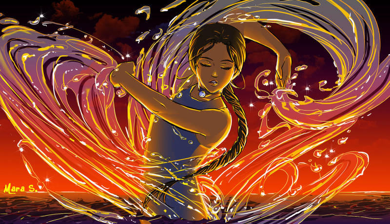 Katara: Water Dancer by Acaciathorn