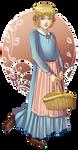 Animerican Girl: Kirsten by Acaciathorn