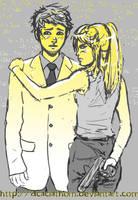Physicist Jimmy + Pilot Cindy? by Acaciathorn