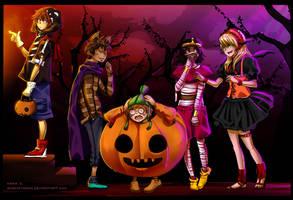 Collab-Jimmy Neutron Halloween by Acaciathorn