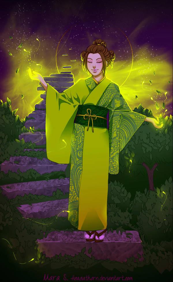 The Soul of Suzuhashi Yumi by Acaciathorn