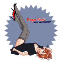 Sexy Pepper Potts by lilis-gallery