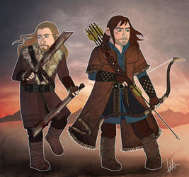 The Battle of Five Armies by lilis-gallery