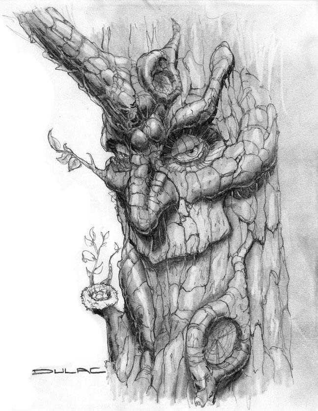 Wood Golem By Magnuson24 On Deviantart