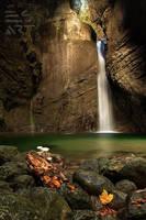 Waterfall Kozjak by eriksimonic